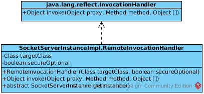 Java Proxies ILogon remoteInvocationHandler